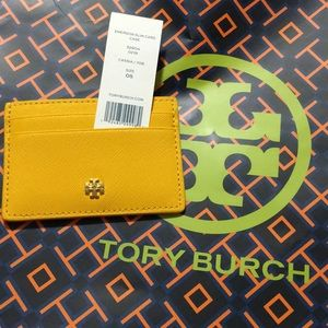 NWT Tory Burch Emerson Slim Card Case